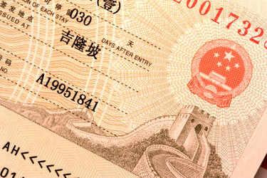 China Visum beantragen