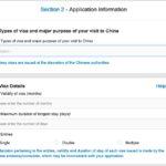 Antrag China Visum