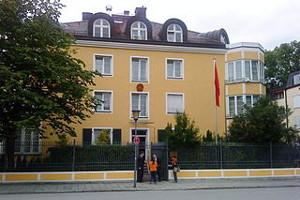 China Konsulat & Visum München