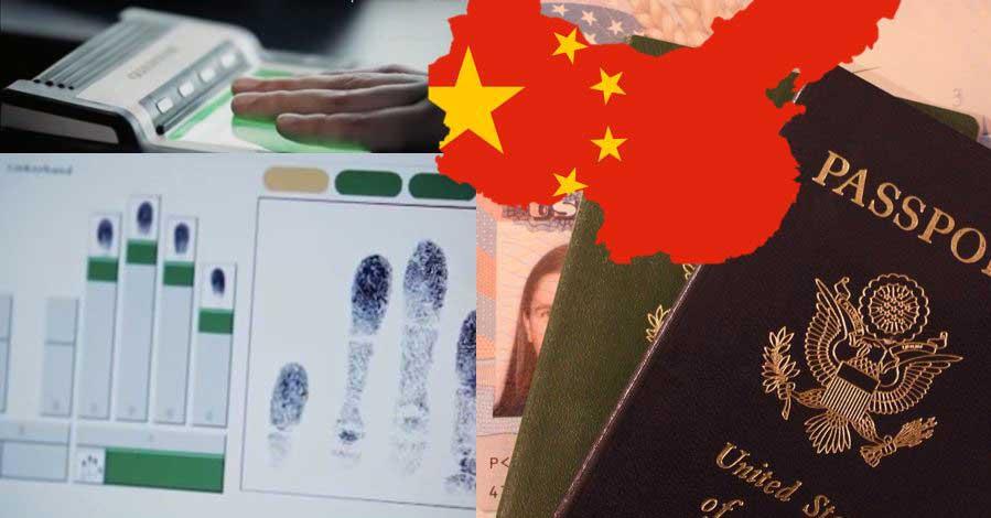 Fingerabdruck China Visum